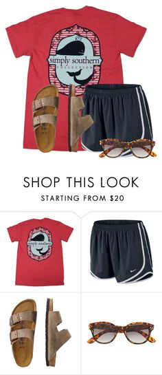 """""""Hangin out with my Best Friend"""" by flroasburn ❤ liked on Polyvore featuring NIKE, TravelSmith and H&M"""