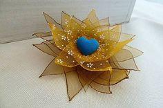 S modrým srdcom / Martinuska - SAShE. Brooches Handmade, Jewelry, Jewlery, Jewerly, Schmuck, Jewels, Jewelery, Fine Jewelry, Jewel