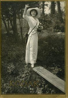 The Kodak Girl - Catalog Kodak 1914 -- < found when I pinned ... http://www.pinterest.com/pin/507710557966751376/ . >