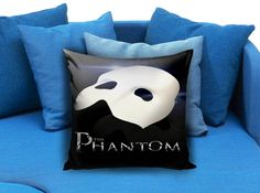 Rare The Phantom of The Opera  These soft pillowcase made of 50% cotton, 50% polyester.  It would be perfect to decorate your home by using our super soft pillow cases on sofa, chair, bench or bed.  Customizable pillow case is both comfortable and durable, improving the quality of your sleep with these comfortable pillow case, take it home now!  Custom Zippered Pillow Cases available in 7 different size (16″x16″, 18″x18″, 20″x20″, 16″x24″, 20″x26″, 20″x30″, 20″x36″)