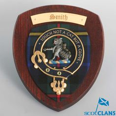 Smith Clan Crest Wall Plaque