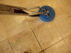 Las Vegas Tile and Grout Cleaning of Porcelain Tile. Former commercial Nail Salon where tile cleaning rarely happens. If you have a commercial small business, don't you think it's time to get your tile and grout cleaned today?   http://www.lasvegastileandgroutcleaning.com 702-595-8178
