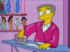 smithers /the simpsons Simpson Tv, Homer Simpson, Simpsons Funny, The Simpsons, Audrey Horn, Playlists, Simpsons Characters, Famous Cartoons, Futurama