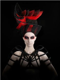 Hairstyle 2015 NAHA Avant Garde Nominee by Chrystofer Benson on Bangstyle, House of Hair I. 2015 NAHA Avant Garde Nominee by Chrystofer Benson on Bangstyle, House of Hair Inspiration Fancy Hairstyles, Creative Hairstyles, Wedding Art, Wedding Humor, Wedding Makeup, Clown Makeup, Men Makeup, Devil Makeup, Witch Makeup
