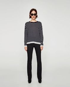 STRIPED SWEATER-Sweaters-KNITWEAR-WOMAN | ZARA Canada