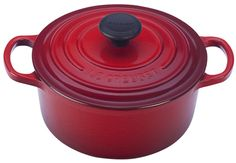 Image for 2 qt. Round French Oven from Le Creuset, Mom and Jean along with one pot meals book