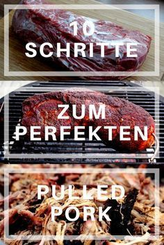 Befolge diese 10 Schritte und the bekommst das perfekte Porc effiloché barbecue Source by grillgurude No related posts. Pulled Pork Rub, Perfect Pulled Pork, Pulled Pork Burger, Pork Burgers, Smoked Pulled Pork, Smoked Beef Brisket, Pulled Pork Recipes, Pork Ribs, Beef Recipes