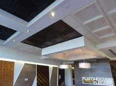 Suspended Ceiling Tiles Montreal Showroom -3