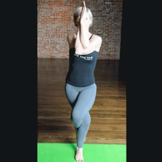 Eagle Pose - Yoga for Weight Loss: Top 10 Yoga Poses that Increase Metabolism - Shape Magazine