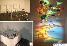 Schatten Kunst - Ideen für Events und Messen