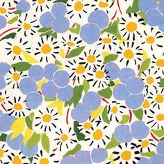 Delightful colors & sparkly floral pattern :-) Fabric inspired by Henri Matisse by Alexander Henry Textile Patterns, Textile Prints, Flower Patterns, Print Patterns, Surface Pattern Design, Pattern Art, Abstract Pattern, Pattern Fabric, Floral Illustration