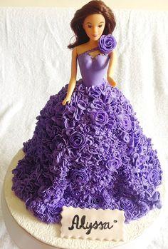 Barbie Couture Cake