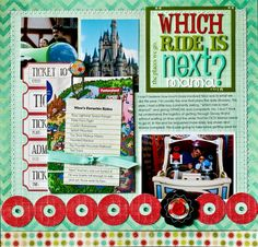 Disney - Which Ride? by NancyDamiano @2peasinabucket