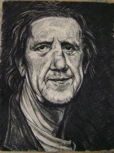 """Pinturas e debuxos: """"La arruga es bella """" (serie ELES )."""