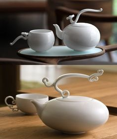 Cute tea pots <3          Source: Google