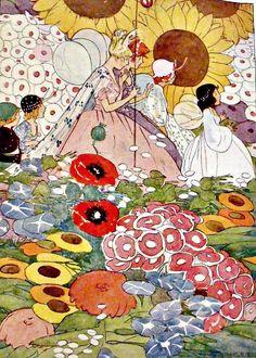 Flower Fairies by Clara Ingram, 1915 (Se parece al estilo de Little Nemo)