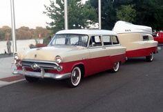 1952 Ford stationwagon