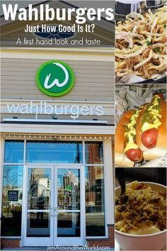 Visiting Wahlburgers in Hingam Massachusettes