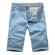Aliexpress.com  Compre Homens de verão de algodão Shorts homens calções de  praia macacão Shorts Bermudas Masculina de calças para homens de confiança  ... 8a6ba6920f21e
