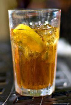 Iced Tea Recipe   http://shewearsmanyhats.com/sweet-on-tea-part-i/