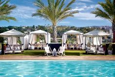 #3 on Frommer's list of America's Best Rooftop Hotel Pools: The London West Hollywood!