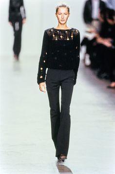 Calvin Klein Collection Fall 1999 Ready-to-Wear Fashion Show - Gisele Bündchen