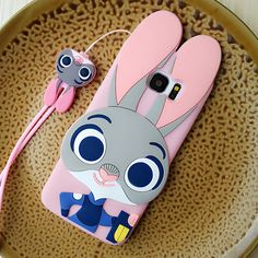 3D-Case with Cartoon Rabbit for Samsung Galaxy //Price: $12.97 & FREE Shipping //     #iphone