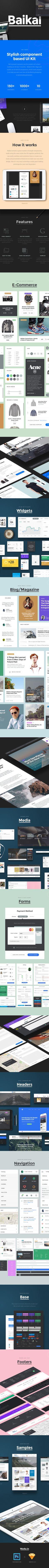 Baikal UI Kit on Behance