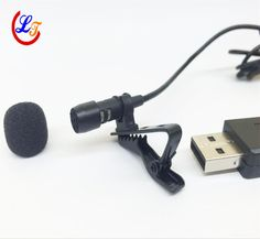 Professional Lapel Mini Condenser Microphone USB Lavalier Microfone for Computer PC Laptop etc with USB connector #Affiliate
