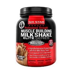 I'm learning all about Six Star Professional Strength Muscle Building Shake Triple Chocolate Milk Shake at @Influenster!