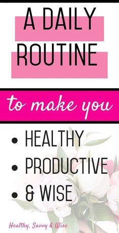 Time Management Made Easy. with a Fabulous Daily Routine! Learn how to establish and awesome daily routine and master your time management once and for all! You'll be more productive, save time, and ward off procrastination! This is one daily routine yo Daily Routine For Women, Beauty Routine Schedule, Self Care Routine, Daily Routines, Daily Schedules, Kids Schedule, Evening Routine, Night Routine, Morning Routines