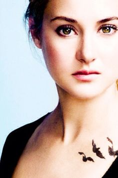 B atrice prior divergent series fractions and my family for Divergent tris bird tattoo