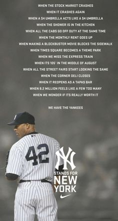 Yankees...all the way...