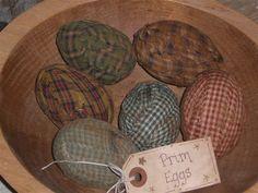 Prim easter eggs...Nice idea