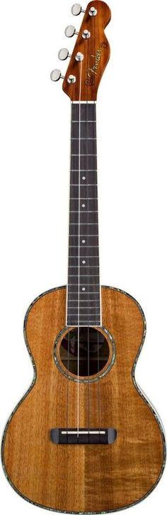 Fender Ukulele Nohea | All Koa Tenor Ukulele