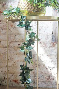 Faux Trailing Ivy Garland - - Home Accessories Fake Plants Decor, Faux Plants, Plant Decor, Indoor Plants, Trailing Flowers, Christmas Plants, Rockett St George, Flower Garlands, Hanging Baskets