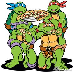 Yup, I loved me some Teenage Mutant Ninja Turtles