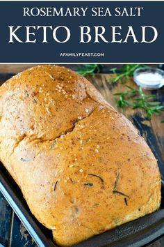 Low Carb Bread Machine Recipe, Easy Keto Bread Recipe, Lowest Carb Bread Recipe, Bread Recipes, Recipe List, Pizza Recipes, No Bread Diet, Best Keto Bread, Bread Food