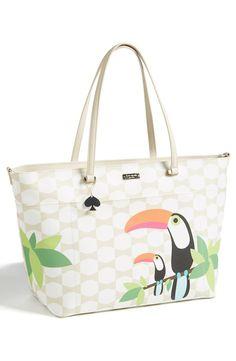 Tropical twist baby bag