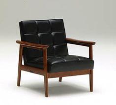 K Chair 黑色單人座      售價: $13,000     Design: KARIMOKU60     尺寸: w64.5 X h70 X d70 sh 37 CM     材質: 橡膠木