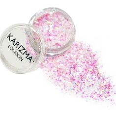 Karizma Fairy Dust Glitter ($7.20) ❤ liked on Polyvore featuring beauty products, makeup, filler and pink