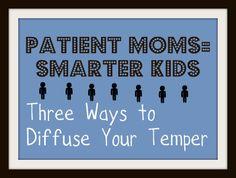Patient Moms equals smarter kids