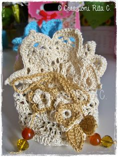 Creazioni Rita C. ... Only Handmade!: Nuova Collezione di Sacchetti per confezionare Bijoux