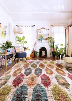 The Jungalow wearing Loloi rugs