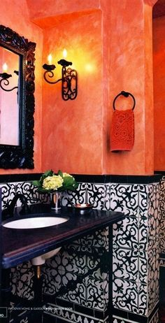 102 fantastiche immagini in bathroom style marocco su pinterest nel 2018 bathroom moroccan - Bagno in spagnolo ...
