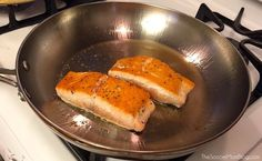 With this foolproof trick you can enjoy restaurant quality seafood at home -- cook perfect salmon every single time!
