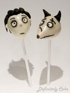 Frankeweenie Cake Pops! Victor £4 and Sparky £3.50