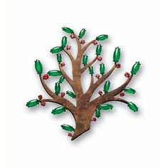 EXQUISITE AND UNIQUE JADEITE AND SPINEL TREE OF LIFE BROOCH, TAFFIN | lot | Sothebys