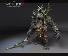 ArtStation - The Witcher -Troll, Arkadiusz Matyszewski