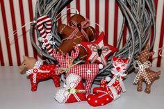 ✿9tlg.Set Anhänger  Weihnachten Christbaumschmuck Tilda Baumschmuck ✿